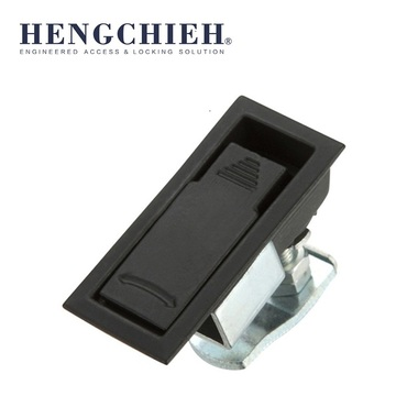 Black PVC Coated ZDC Electronic Cabinet Locks