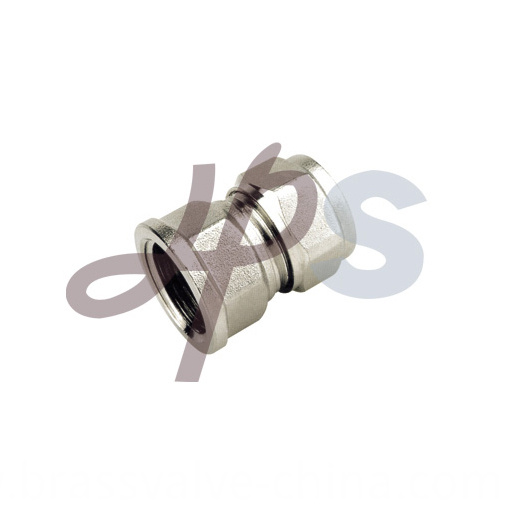 Brass Female Straight Compression Coupling