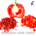 Red bell pepper granula flakes