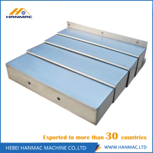 ODM for Telescopic Steel Covers Gantry Machine Tool Protective Cover supply to Liberia Manufacturer