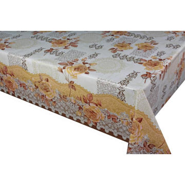 Elegant Tablecloth Flexible with Non woven backing