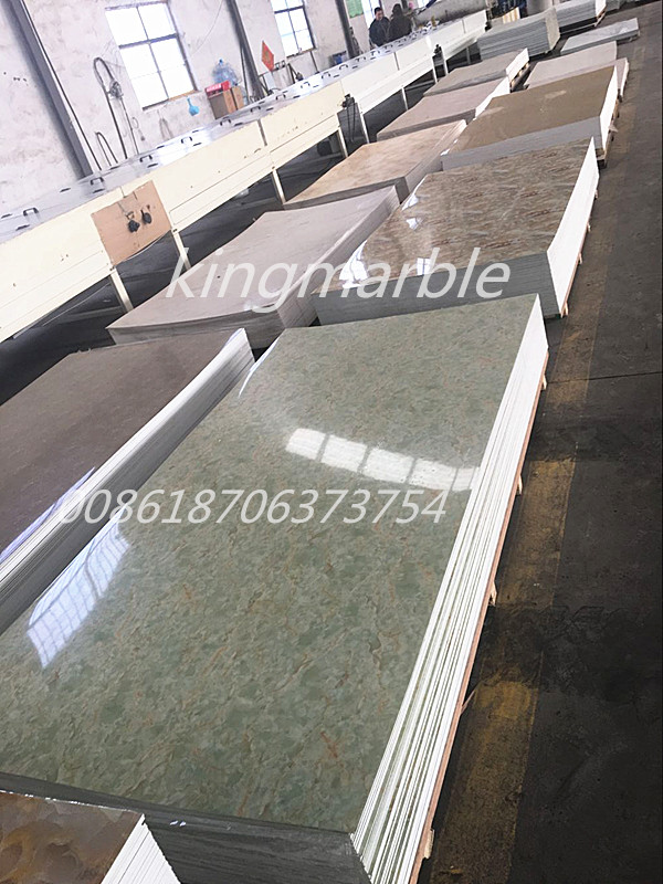 Cheap price 4x8 waterproof 3mm pvc wall panel marblesheet
