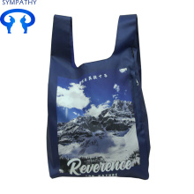 Best quality and factory for Reusable Grocery Bags Double pocket folding bag for men and women export to Indonesia Factory