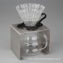China for Pour Over Kettle 3 Pieces Pour Over Coffee Dripper Starter Set export to Netherlands Exporter