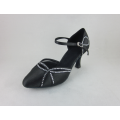 Ladies ballroom shoes with crystals