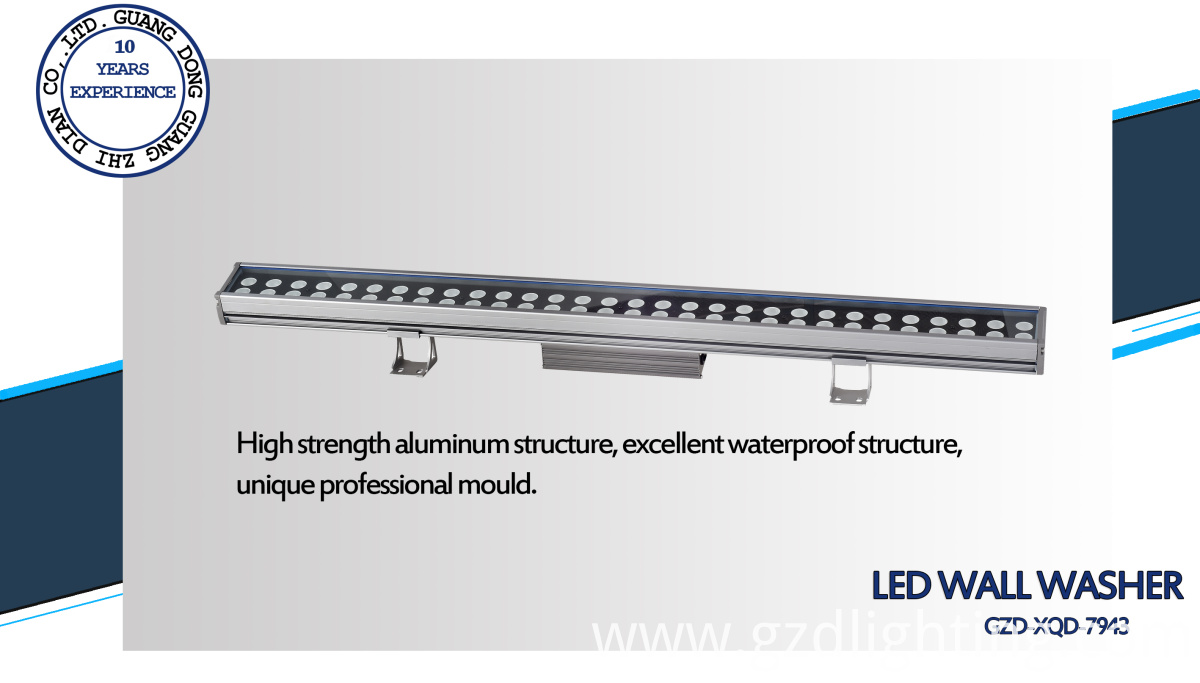 90W led linear wall washer
