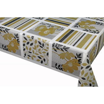 Elegant Tablecloth with Non woven backing 60X84