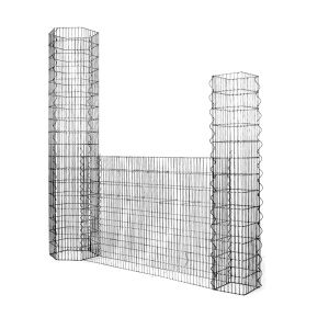 Hot Galvanized gabions and stone walls