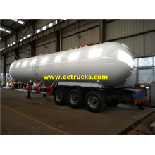 60cbm Tri-axle LPG Gas Delivery Trailers