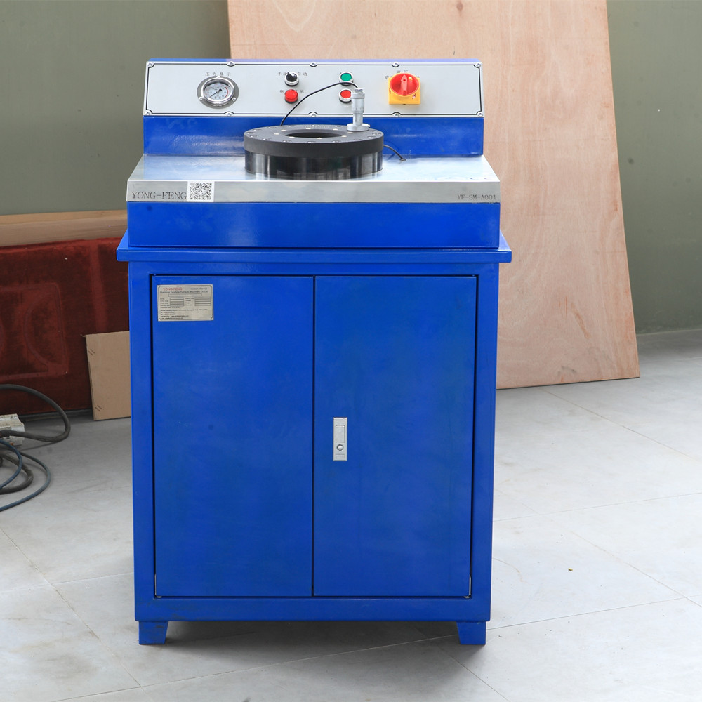 Fitting Nut Crimping Machine