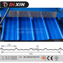 Trapezoidal high speed colored roll forming machine