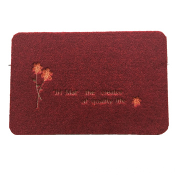 Must-have household dust-proof embroidery door mats