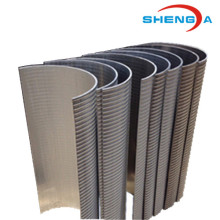Best quality and factory for Ss Curved Platelike Johnson Screen Johnson Screen Wedge Wire Stainless Steel Filter Bow supply to Mexico Importers