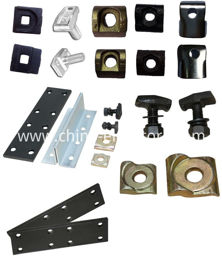 Guide Rail, Fishplate, Rail Clips, Screw Kit