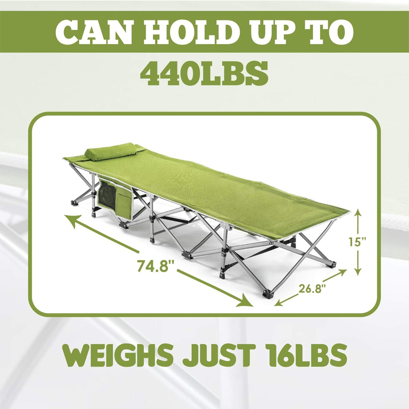 Deluxe military Bed Size