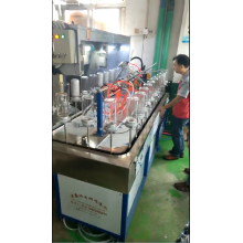 glass bottle for coating line
