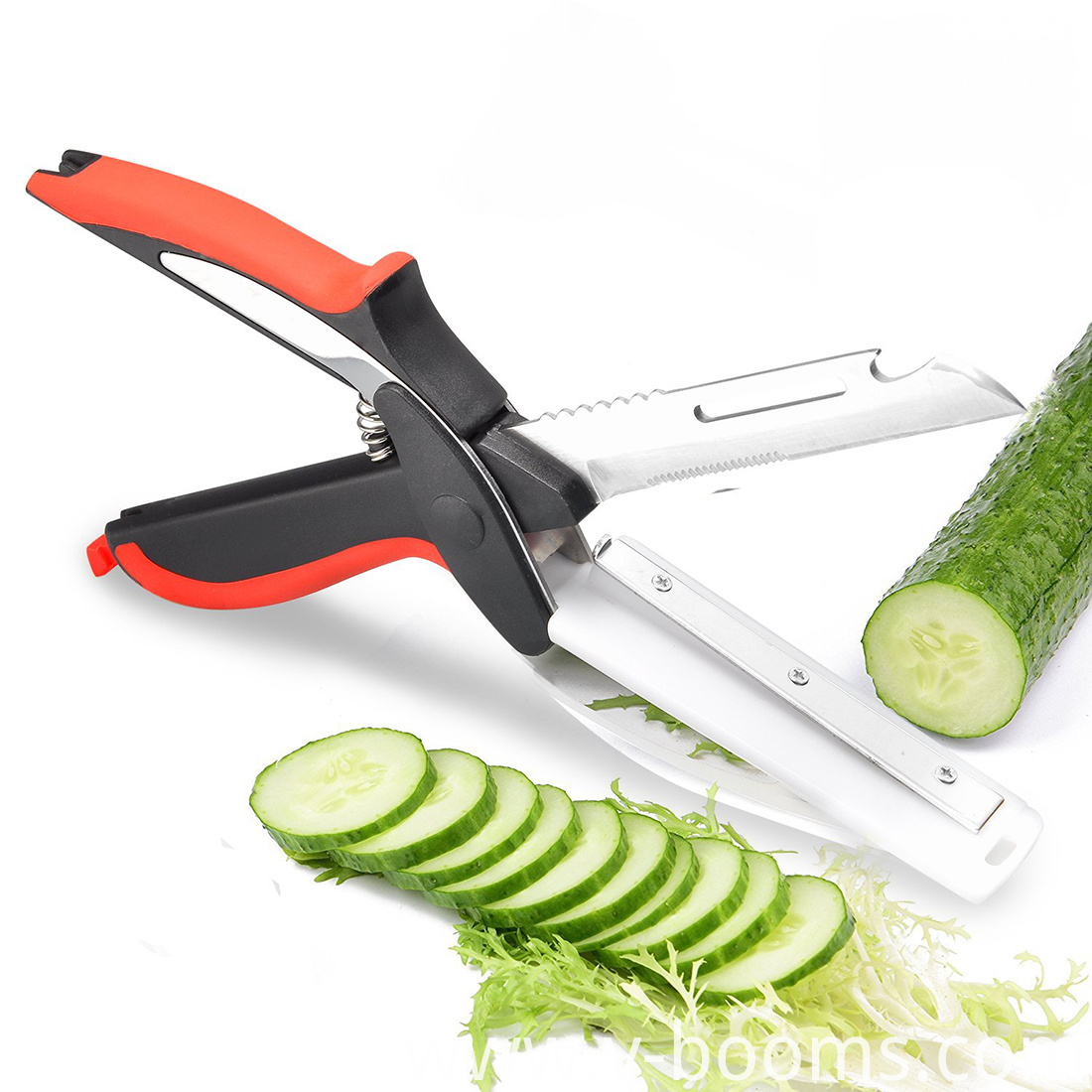 Food Chopper Handle Held Kitchen Cutter