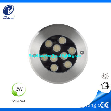 3W IP68 led underwater pool light fountain light