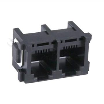 RJ11 Top Entry 8P8C 1X2P Full Plastic