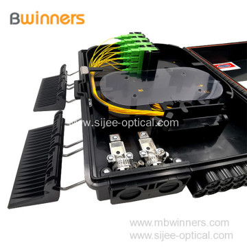 Outdoor Waterproof Wall Mount 16 Core Fiber Optic Distribution Box
