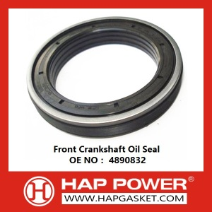 Low price for Silicone Rubber Oil Seal Front Crankshaft Oil Seal 4890832 export to United States Importers