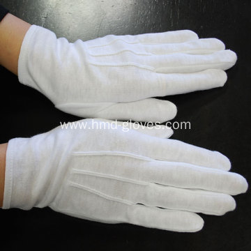 Cotton Gloves with Snap
