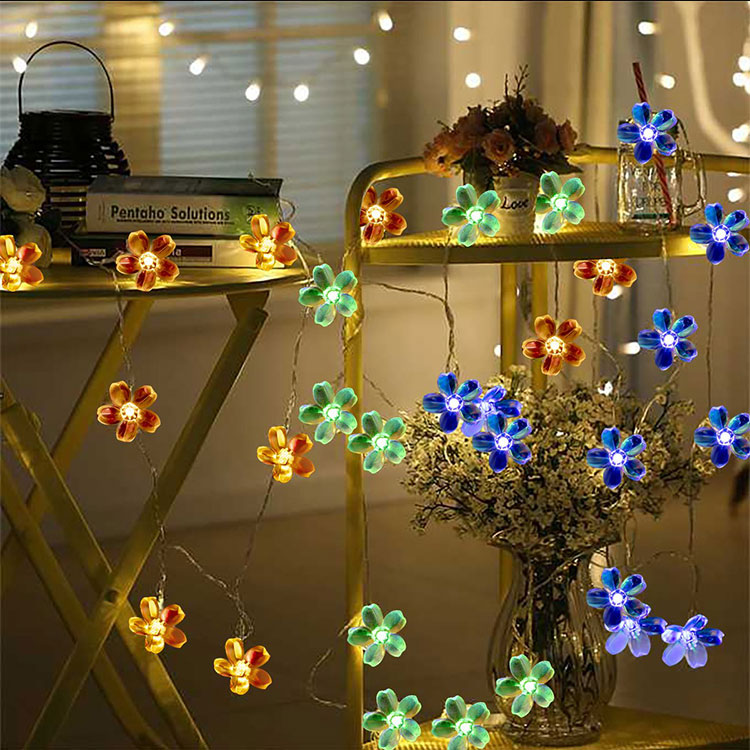 5m flower garland light