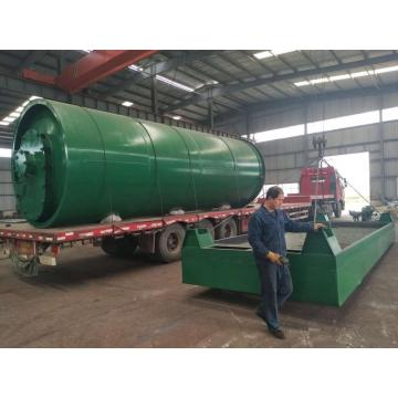 advanced used tyre pyrolysis plant