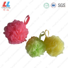 Single style sightly mesh bathing sponge