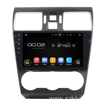 Android Car DVD Player барои Subaru WRX 2016-2017