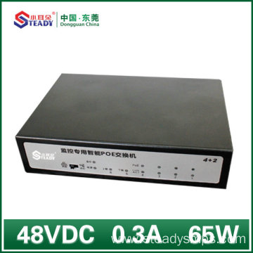 Factory Price for 250M Poe Transmission 4 Ports Gigabit Standard Managed POE Switch supply to France Suppliers