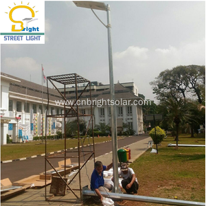 2018 Newest 40W Integrated Solar Street Light