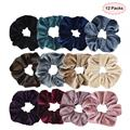 Velvet  Elastic Scrunchies or Women Hair Accessories