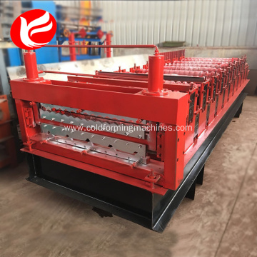 Double layer roll forming machines metal roofing machine