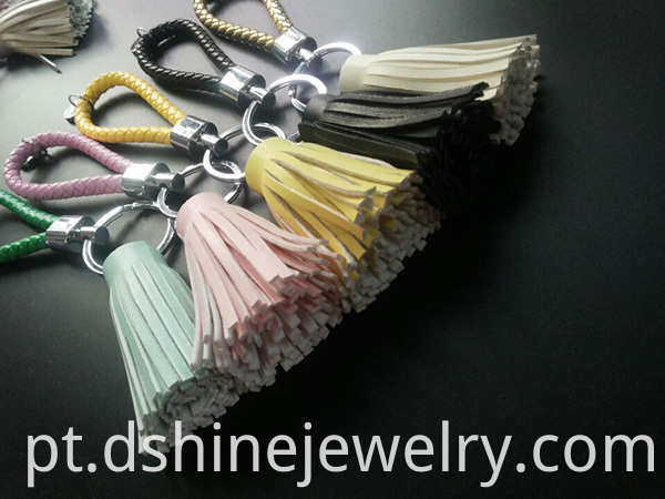 Bag Charms Metal Keychain