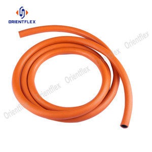 Flexible propane line black gas heater hose 6m