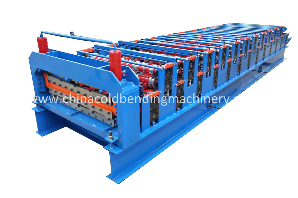 Double Layer Roll Forming Machine For Roofing
