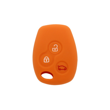 Standard size silicone key case for Renault