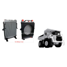 Air Cooled Heat Exchangers for Mining Truck