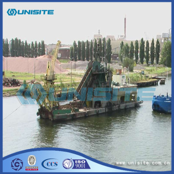 Steel marine grab dredgers