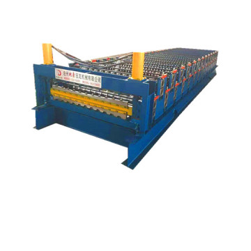 high quality corrugated/ibr double roll forming machine