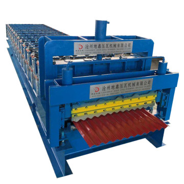 PLC control double layer ibr roll forming machine