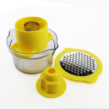 Corn Stripper With Measuring Cup And Grater
