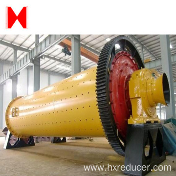 Large capacity overflow type ball mill