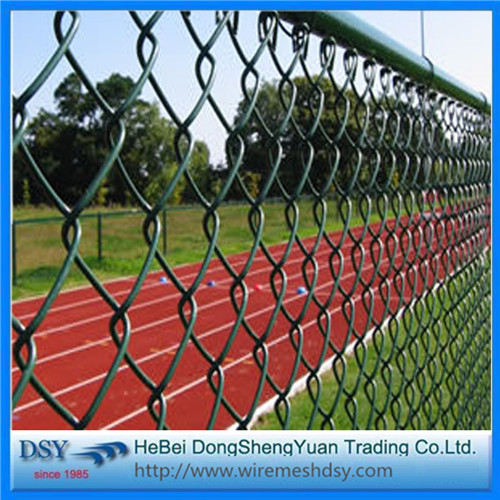 Sport Field Hot Dip Galvanized Chain Link Fence