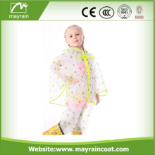Kids Plastic Raincoat OEM Children Poncho Promotion