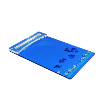 Wholesale Blue Acrylic Clipboards In Bulk