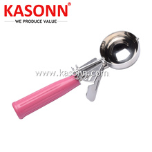Personlized Products for Stainless Steel Fruit Scooper Stainless Steel Trigger Ice Cream Food Disher supply to Mayotte Exporter