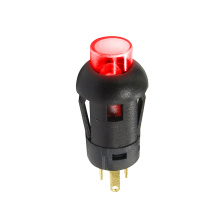 Momentary LED Illuminated Push Button Switch
