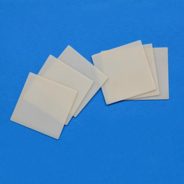 Ukushisa kwe-thermal aln aluminium nitride ceramic sheet